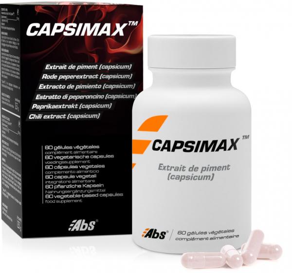 Capsimax With Hot Pepper Extract Capsicum
