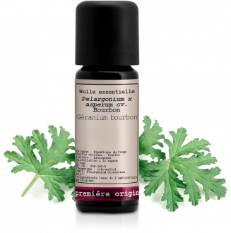 Organic Bourbon geranium Essential oil