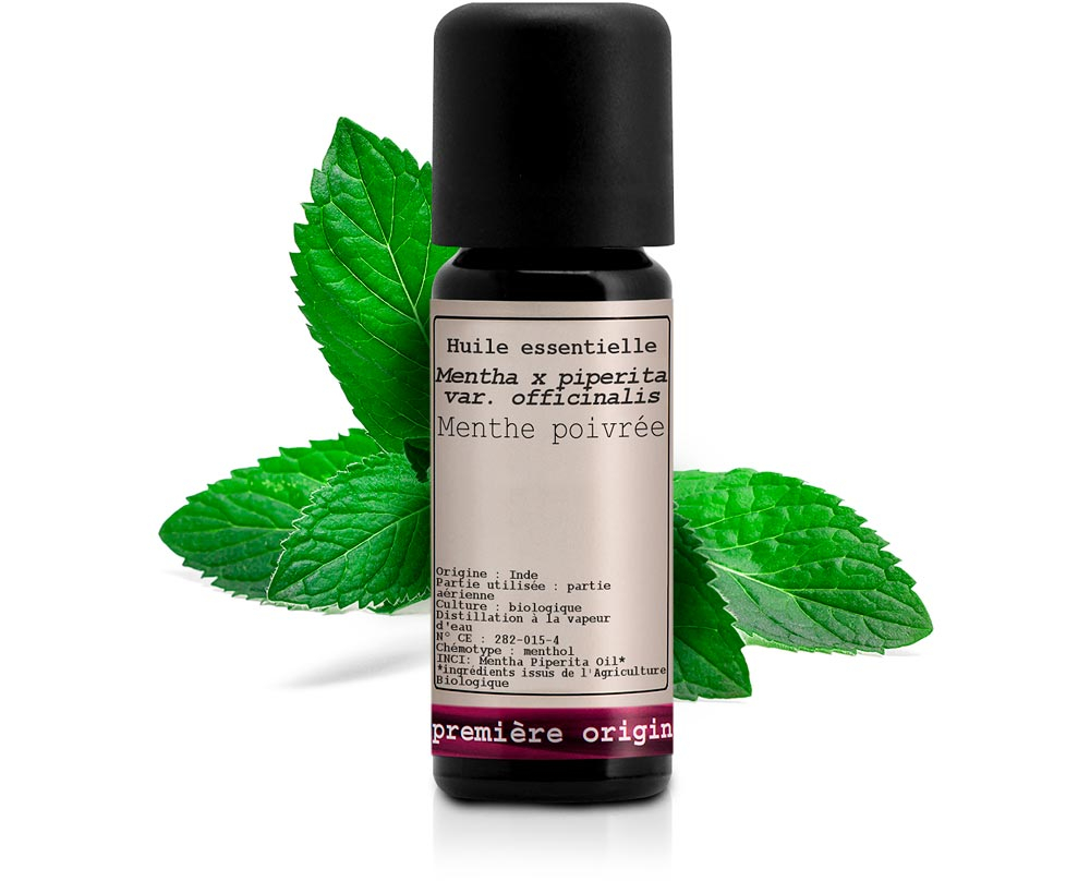 Organic Peppermint Essential oil