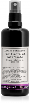Botanical lotion purifying and mattifying