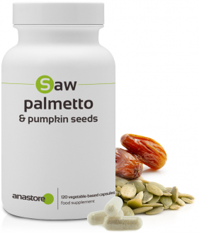 Sabal palmetto and pumpkin seed