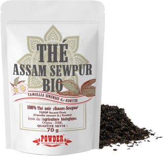 Organic Assam Sewpur black tea